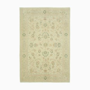 Orientalischer Handgewebter Orientalischer Handgewebter Antiker Oushak Teppich