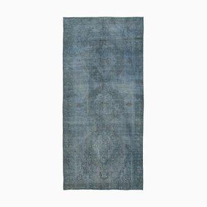 Grey Anatolian Hand Knotted Wool Oushak Carpet