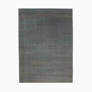 Grey Anatolian Handmade Wool Oushak Carpet