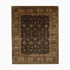 Multicolor Turkish Handmade Wool Large Oushak Carpet