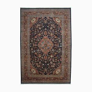 Bunter Anatolischer Handgeknüpfter Ouschak Teppich aus Wolle