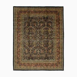 Multicolor Turkish Handwoven Antique Large Oushak Carpet