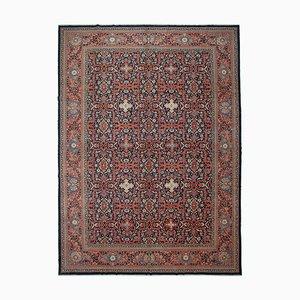 Multicolor Oriental Handmade Wool Large Oushak Carpet
