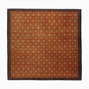 Handgeknüpfter Anatolischer Handgeknüpfter Oushak Teppich aus Wolle