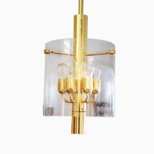 Vintage Pendant Light 4298 from Glashütte Limburg