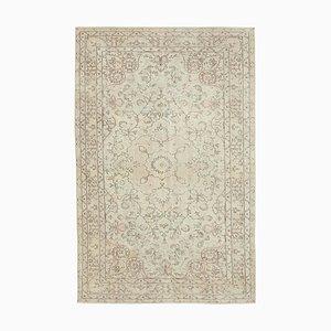 Handgeknüpfter anatolischer Vintage Teppich in Beige