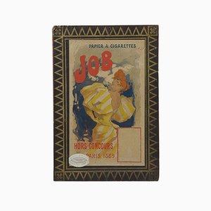 Panneau Publicitaire Art Nouveau JOB Cigarettes par Jules Cheret, 1889