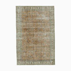 Türkischer Handgeknüpfter Türkischer Vintage Teppich in Beige