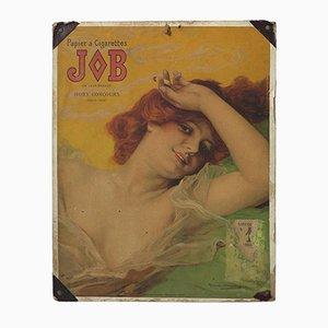 Art Nouveau Werbeplakat auf Karton von Daniel Hernandez, 1889
