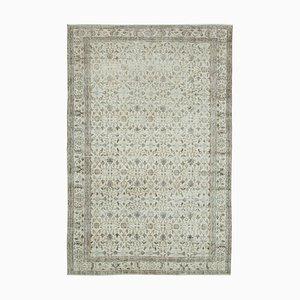 Handgeknüpfter anatolischer Handgeknüpfter Großer Vintage Teppich aus Wolle