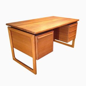 Double Sided Scandinanvian Desk, 1960