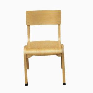 Vintage Stuhl aus Sperrholz