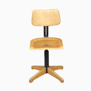 Chaise de Bureau Réglable Vintage Industrielle