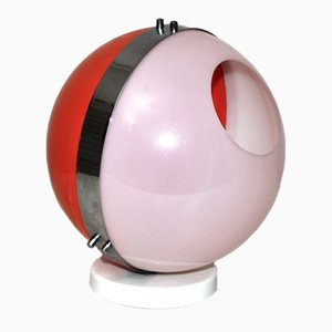 Plastic Plexi Ball Table Lamp, 1970s