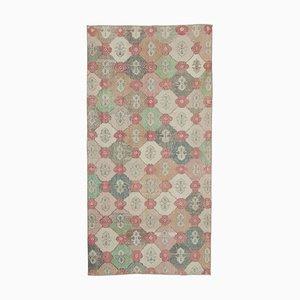 Orientalischer Handgeknüpfter Vintage Teppich aus Wolle