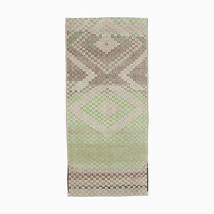 Oriental Multicolor Handmade Wool Vintage Carpet