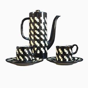 Juego de té de cerámica de Hedwig Bollhagen, años 50