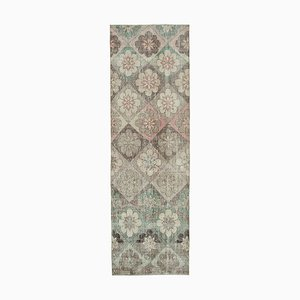 Oriental Multicolor Handmade Wool Runner Carpet
