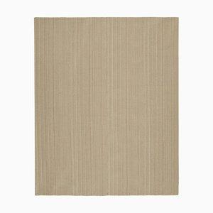Brown Hand Knotted Wool Flatwave Kilim Carpet