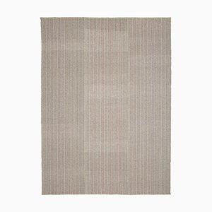 Handgewebter Mehrschichtiger Flatwave Kilim Teppich aus Wolle