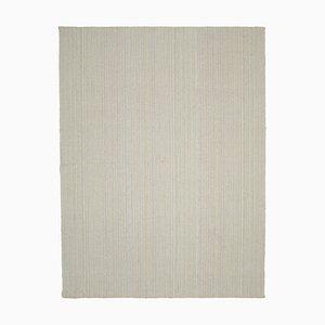Beige Hand Knotted Wool Flatwave Kilim Carpet