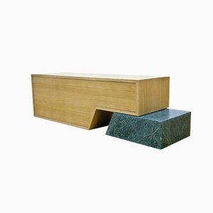 Sideboard mit Grünem Marmor von Maria Vidali