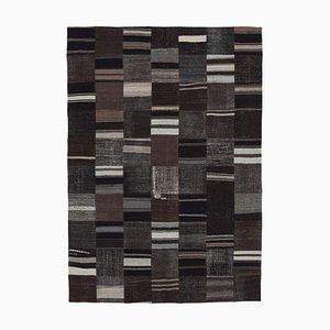 Handgeknüpfter Orientalischer Kelim Patchwork Teppich aus Wolle