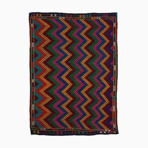 Oriental Hand Knotted Wool Vintage Kilim Carpet