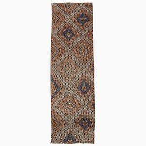 Oriental Handmade Wool Vintage Runner Kilim Carpet