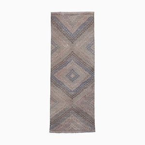 Tapis Kilim Vintage en laine nouée à la main turque