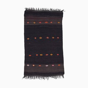 Tapis Kilim Vintage en Laine Tribal Traditionnel Oriental