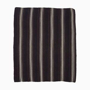 Oriental Decorative Brown Tribal Wool Vintage Kilim Carpet