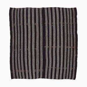 Turkish Decorative Handmade Tribal Wool Vintage Kilim Carpet