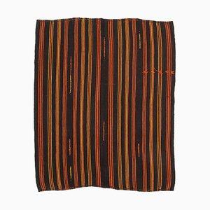 Turkish Traditional Handmade Tribal Wool Vintage Kilim Carpet