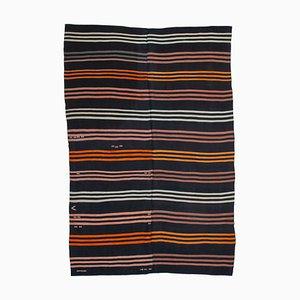 Anatolian Antique Hand Konotted Tribal Wool Vintage Kilim Carpet