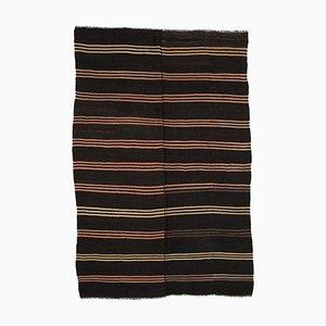 Brown Decorative Handmade Tribal Wool Vintage Kilim Carpet