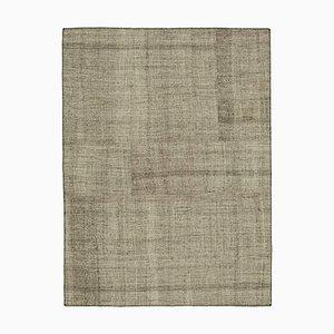 Anatolian Decorative Handmade Tribal Wool Vintage Kilim Carpet