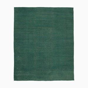 Flach geflochtener orientalischer handgewebter Kilim Teppich aus handgewebter Wolle