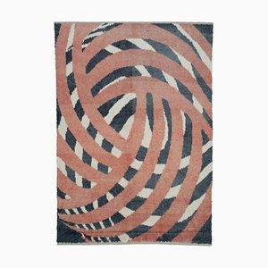 Mehrfarbiger Marokkanischer Handgewebter Langhaariger Teppich