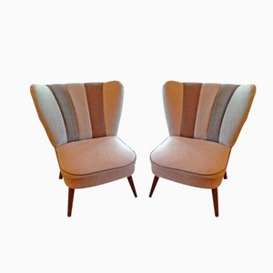 French Cocktail Chairs, Set of 2