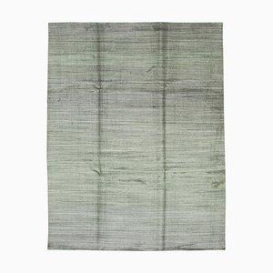 Grey Moroccan Handwoven Long Pile Tribal Carpet