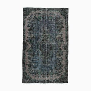 Brown Turkish Decorative Handmade Overdyed Carpet