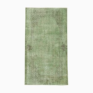 Vintage Turkish Beige Wool Handmade Carpet