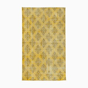 Vintage Grey Oriental Small Wool Carpet