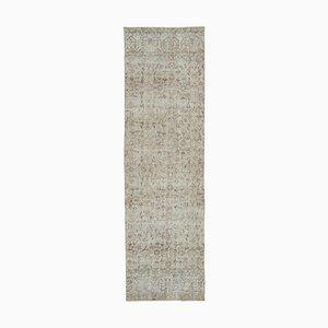 Dekorativer handgewebter Antiker Antiker Teppich in Überfärbter Optik