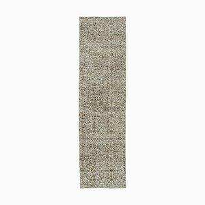 Handgewebter Beiger Handgeknüpfter Beiger Teppich in Beige