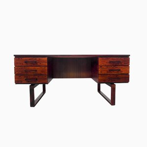 Rosewood Executive Desk by Kai Kristiansen for Preben Schou Andersen