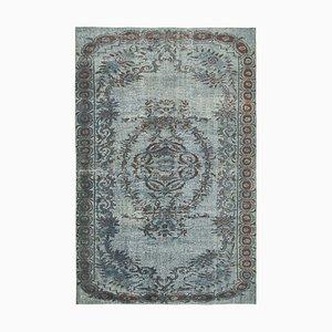 Grey Overdyed Handmade Wool Large Carpet