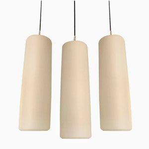 Lampade da soffitto di Peill & Putzler, anni '70, set di 3
