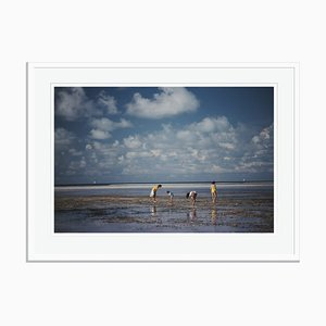 Slim Aarons, Cat Cays Oversize C Print Framed in White